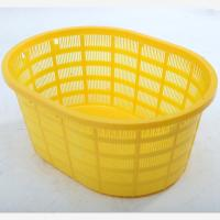 Quality HDPE Plastic oval-shaped Basket / Square plastic basket /Plastic Shopping Basket for sale