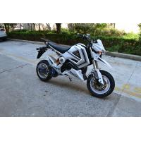 Quality 60 Km / H 1500w Electric Scooter Motorcycle With Lead - Acid Battery 72V 20AH for sale