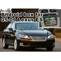 Quality Lexus ES240 ES350 2005-2009 Android Navigation Box mirror link video interface rear view for sale