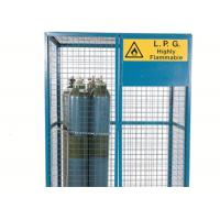 Quality Large Size Gas Cylinder Cages Air Conditioner Cage Anti Theft For Warehouse       for sale