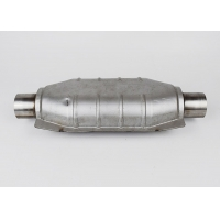Quality Oval SS409 Car Catalytic Converter for sale
