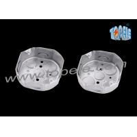 Quality UL Listed Metal Octagon Box , Metal Electrical Box Corrosion Resistance for sale