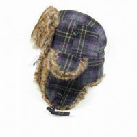 China Popular Winter Hat, Water-resistant Outer Fabric, with Printed or Embroidery Logo on sale