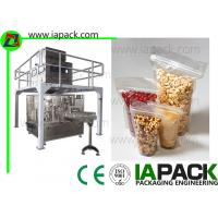 China Automatic Premade Pouch Packing Machine For Seed Stand-Up Zip Bag Packing machine on sale