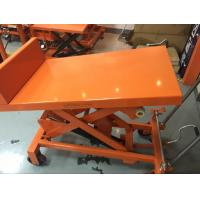 Quality Manual Scissor Tilting Work Table 26 Degree Tilt Angle For Repair Working Place for sale