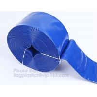 China Pvc Spiral Flexible Layflat Hose,High Flexibility Pvc Flexible Water Layflat Hose,Fiber Spring Layflat Hose, bagease pac on sale