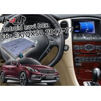 Quality Infiniti QX50 / EX Car Navigation System With Multi Screen Interactive Display for sale