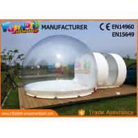 Quality Transparent Advertising Inflatables / Inflatable Bubble Room 8m Diameter for sale