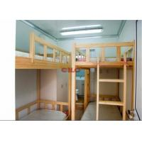 Quality Three Layers Prefabricated Accommodation Comfortable And Safety With Bunk Beds for sale