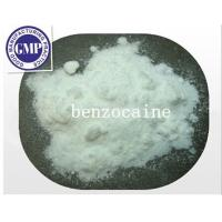 Buy cheap CAS 94-09-7 C22H27N3O 99% Purity Benzocaine Raw Steroid Powders White Powders product