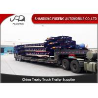 Buy cheap Heavy Duty 40-60 Ton Low Bed Semi Trailer Excavator Truck Trailer product