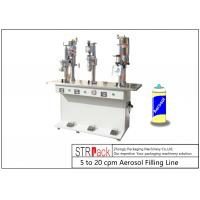 China Semi Automatic Bottle Filling Line / Liquid Filling And Sealing Machine on sale