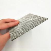 Quality Stainless Steel 5 10 15 25 35 40um Sintered Woven Wire Mesh Filter Screen for sale