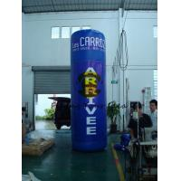 Quality Oxford 4m Advertising Helium Balloons Custom Inflatable Pillar For Trade Show for sale