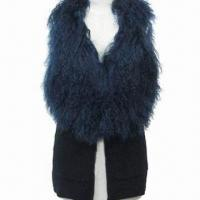 Quality Fur/Leather Vest, Elegant Look, ODM and OEM Orders are Welcome for sale
