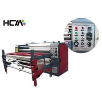 Quality Textile Rotary Heat Transfer Machine Sublimation Oil Relible High Speed for sale