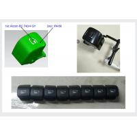 Quality HASCO Two Material 2K Injection Molding Double Color Mould Auto Press Button for sale
