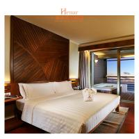 China Iririki Resort Hotel & Spa Queen Bed Bedroom Furniture With Local Culture on sale