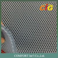 Quality 7mm thickness 100% Polyester Mesh Fabric for car seat cover / materess cover for sale