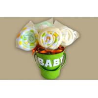 Quality Unique New Borns Baby Clothing Bouquet Gift , Infants baby shower bouquet for sale