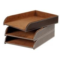 Quality Popular Crafts Leather Document Tray for sale