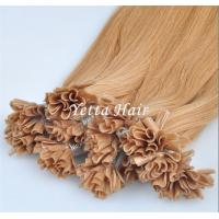 Buy cheap Italian Stick U Tip Pre Bonded Hair Extensions No Shedding No Tangle from wholesalers
