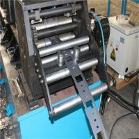 PLC Automatic Cable Tray Roll Forming Machine, Cable Rolling Machine Cold Galvanized for sale