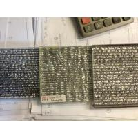 China Chipping Custom Decorative Glass For Showcase / Glass Wall , 1200mm*600mm on sale