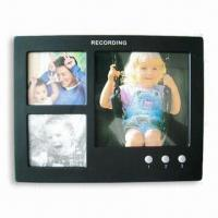 China Recording Photo Frame, Can Hold Three Photos, Measures 20.3 x 2.0 x 15.7cm on sale