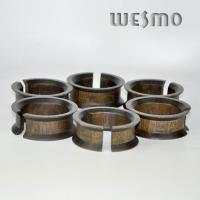 Quality Eco Friendly Round Natural Wood Napkin Rings for Decoration for sale