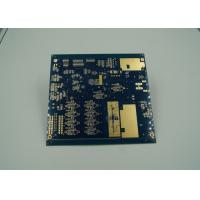 Blue Thick Gold Multilayer PCB Board UL 94 V 0 Flamibility Grade Tg 170