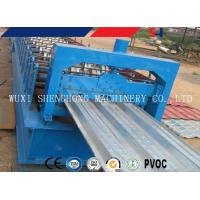 China Floor Deck Plate Cold Roll Forming Machine Plc Control Professional on sale