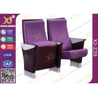 Quality Commercial Furniture Multiplex Church Auditorium Seating Polywood + Foam Inner Panel for sale