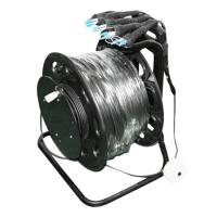 Quality Armored Military Tactical Fiber Optic Cable / 4 Strand Single Mode Fiber 300m LC for sale