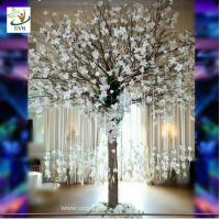 China UVG Memory artificial wishing tree with white magnolia flower for Christmas decoration on sale