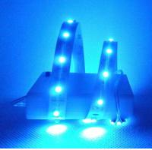China 4.5V AA battery powered LED strip light RGB on sale