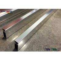 Buy cheap Sliver Mirror Polished Aluminium Profile For Bacony Rail Polished Aluminum Extrusion Profiles product