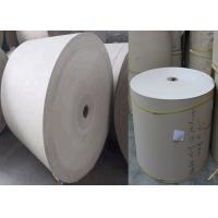 China High Cost Performance 300gsm / 0.49mm foldable Grey Paper Rolls Anti-Curl on sale