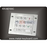 Buy cheap Industrial Explosion Proof 16 Keys weatherproof keypad USB or PS2 interface product