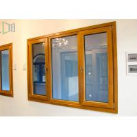 Quality Thermal Break Open Aluminium House Casement Windows with Powder Coating for sale