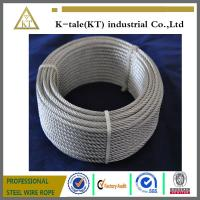 China made in china 7x19 5mm galvanized aircraft cable with cheap price on sale