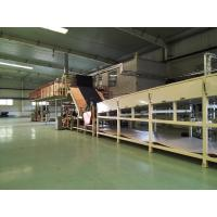 Full Automatic Commercial Carpet Tiles Combined Stentering Operation