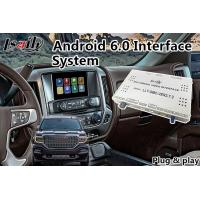 Quality Android 6.0 Multimedia Video Interface for GMC Sierra 2014-2018 Waze Mirrorlink Google for sale