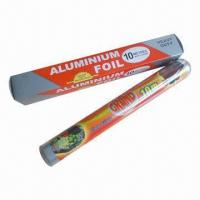 Quality Kitchen Aluminum Foil Paper for Food Packing, Keep Food Fresh and Hygienic for sale