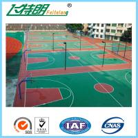 Quality Volleyball Outdoor Basketball Court Flooring Non Toxic Fadeless Surface for sale