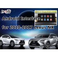 Quality 4- Core GPS Navigation System Lexus Video Interface for 2014-2017 NX with Steering Wheel Control for sale
