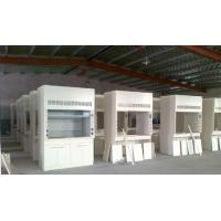 Quality Ventilated Table Steel Table Exhaust Cabinet , Full Steel Fume Hood All Steel for sale