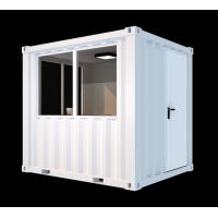 Quality Corten Steel Mini Cube Shipping Container 8ft White Easy Operation Industrial for sale