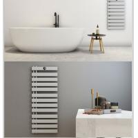 China Wall Mounted Heating Drying Rack Waterproof IP 44 Silver Color 2 Years Warranty on sale