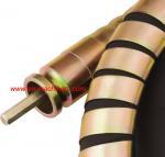 Flex-shaft concrete vibrators are designed to work in medium to high-slump